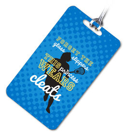 Lacrosse Bag/Luggage Tag This Princess Wears Cleats