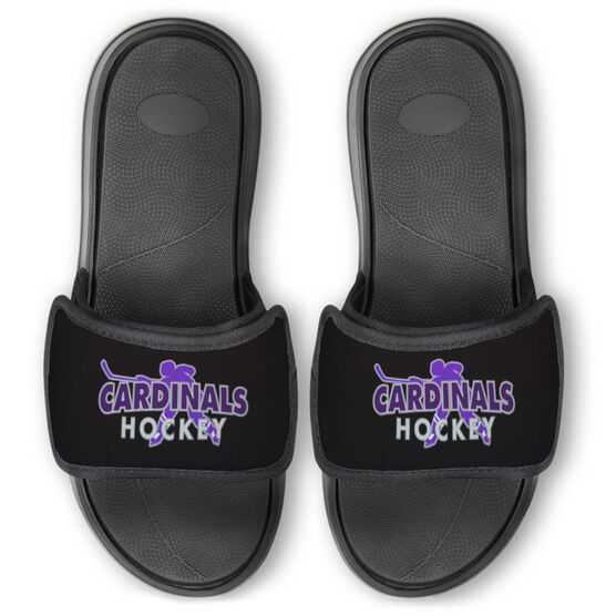 Hockey Repwell® Slide Sandals - Your Team Name