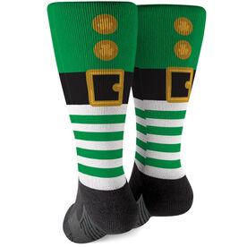 Printed Mid-Calf Socks - Leprechaun
