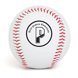 Custom Baseball Initials