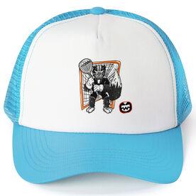 Seams Wild Lacrosse Trucker Hat - Vermin
