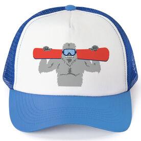 Snowboarding Trucker Hat - Yeti