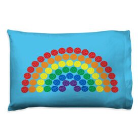 Volleyball Pillowcase - Rainbow