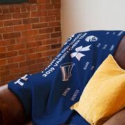 Cheerleading Premium Blanket - Thanks Coach (Horizontal)