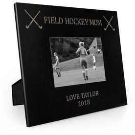 Field Hockey Engraved Picture Frame - Field Hockey Mom