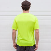 Crew Short Sleeve Performance Tee - Crew Crossed Oars Banner