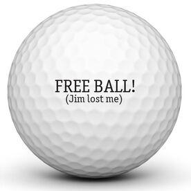 Free Ball Golf Ball