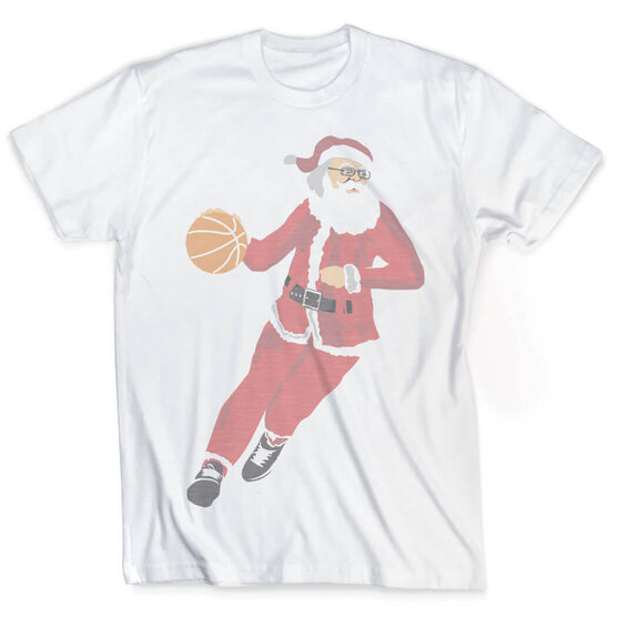 Vintage Basketball T-Shirt - Santa Hoops