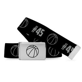 Basketball Lifestyle Belt Number Pattern