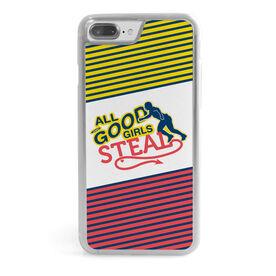 Softball iPhone® Case - All Good Girls Steal
