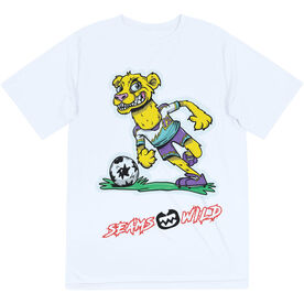 Seams Wild Soccer Short Sleeve Tech Tee - Lionardo