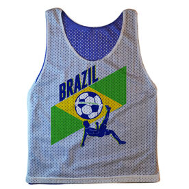 Guys Soccer Pinnie Brazil Soccer
