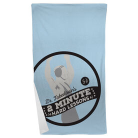 Wrestling Beach Towel Dr. Takedown