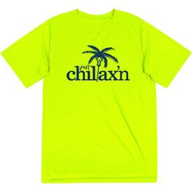 Lacrosse Short Sleeve Performance Tee - Just Chillax'n