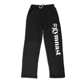 Gymnastics Fleece Sweatpants - #Gymnast
