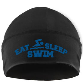 Beanie Performance Hat - Eat Sleep Swim