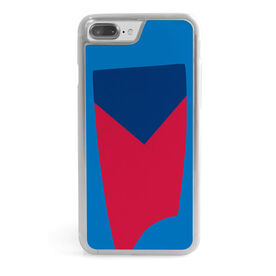 Crew iPhone® Case - Custom Oar Colors V Stripe