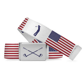 Golf Lifestyle Belt American Flag