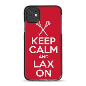 Lacrosse iPhone® Case - Keep Calm