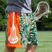 Hunter Camo Lacrosse Shorts