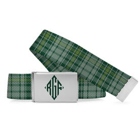 Golf Lifestyle Belt Golf Plaid