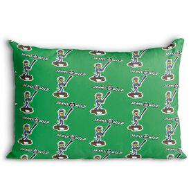 Seams Wild Baseball Pillowcase - Snax (Pattern)