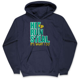 Softball Standard Sweatshirt - Hit Run Steal