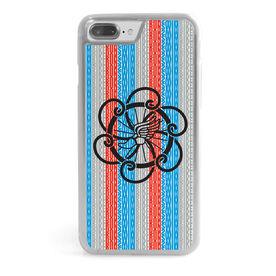 Triathlon iPhone® Case - Tri Logo With Word Pattern