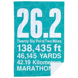 Running Premium Blanket - 26.2 Math Miles