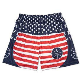 Patriotic Basketball Shorts