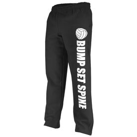Volleyball Fleece Sweatpants Bump Set Spike