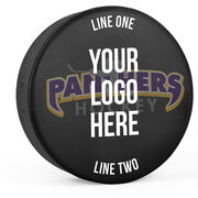 Personalized Hockey Puck - Team Logo