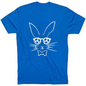 Soccer Tshirt Short Sleeve Hopster Soccer Bunny