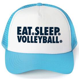 Volleyball Trucker Hat - Eat Sleep Volleyball