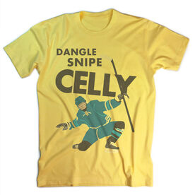 Vintage Hockey T-Shirt - Dangle Snipe Celly