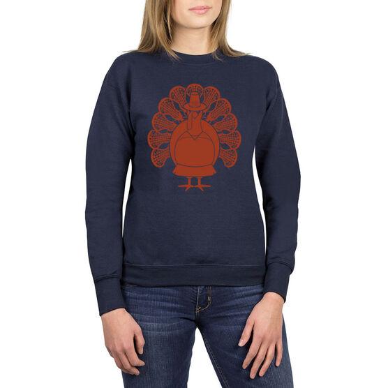 Girls Lacrosse Crew Neck Sweatshirt - Girls Lacrosse Turkey