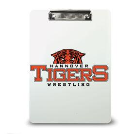 Wrestling Custom Clipboard Wrestling Your Logo