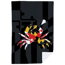 Guys Lacrosse Premium Blanket - Maryland Crab
