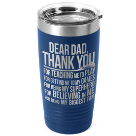 Guys Lacrosse 20 oz. Double Insulated Tumbler - Dear Dad