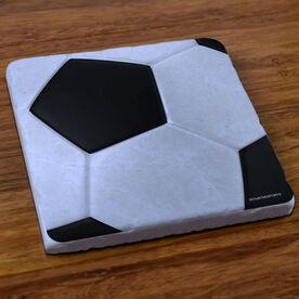 Soccer Graphic - Stone Coaster