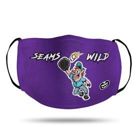 Seams Wild Baseball Face Mask - Pete Slop