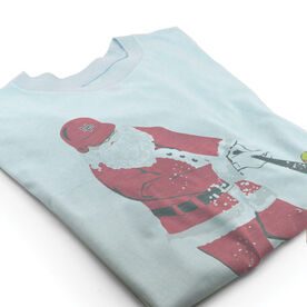 Vintage Softball T-Shirt - Home Run Santa