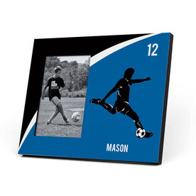 Soccer Photo Frame - Personalized Male Soccer Player