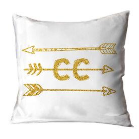 Cross Country Throw Pillow Arrows