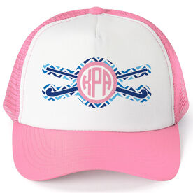 Field Hockey Trucker Hat - Monogram Chevron