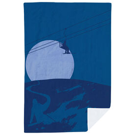 Skiing Premium Blanket - Endless Skiing