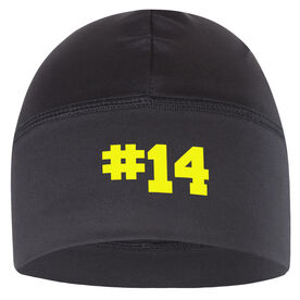 Beanie Performance Hat - Personalized Number