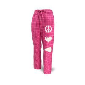 Cheer Lounge Pants Peace Love Cheerleading