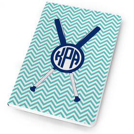 Softball Notebook Monogram