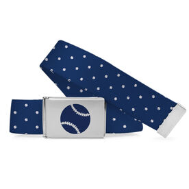 Softball Lifestyle Belt Softball Polka Dots